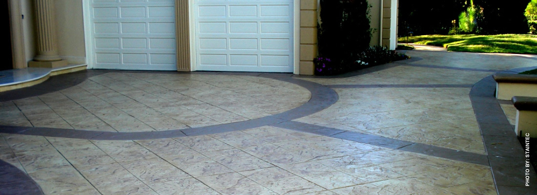 brought to you by concretenetworkcom most popular links design ideas - Concrete Driveway Design Ideas
